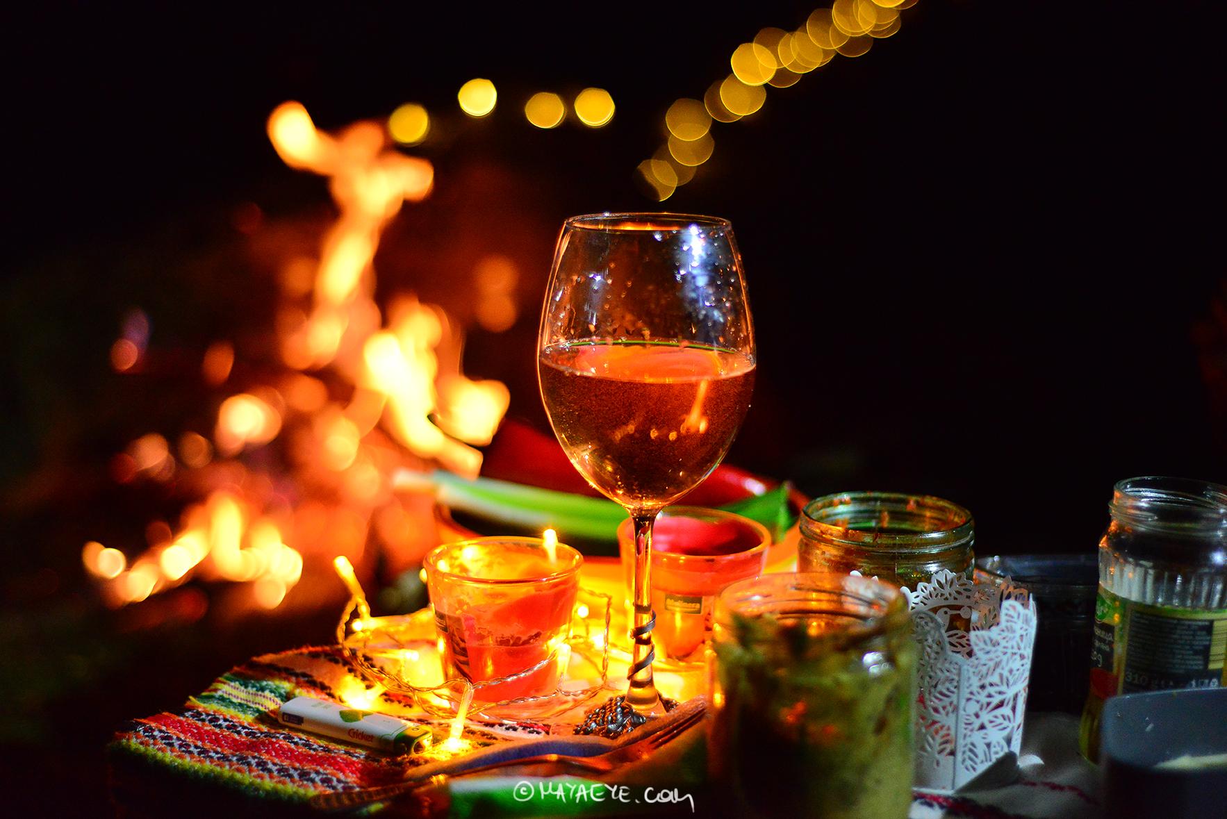 Вино край огъня